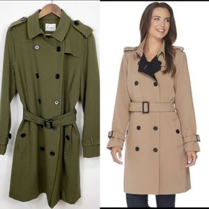 Linea by Louis Dell'Olio Green Trench coat